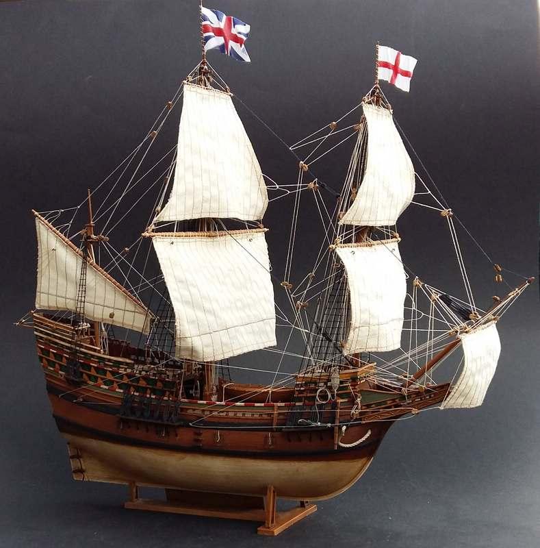 Mayflower Pilgrim-Ship, Revell 1/83 Comp_218