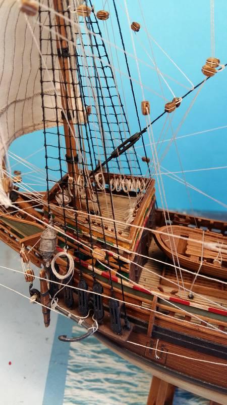 Mayflower Pilgrim-Ship, Revell 1/83 Comp_219