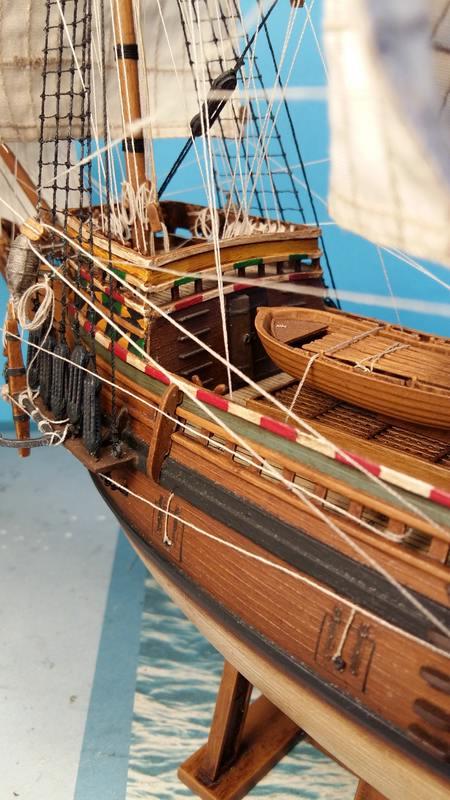 Mayflower Pilgrim-Ship, Revell 1/83 Comp_220