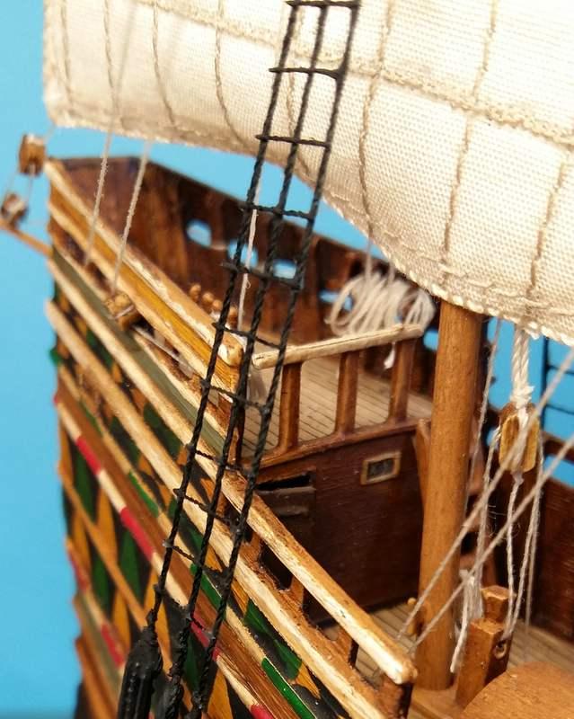 Mayflower Pilgrim-Ship, Revell 1/83 Comp_221