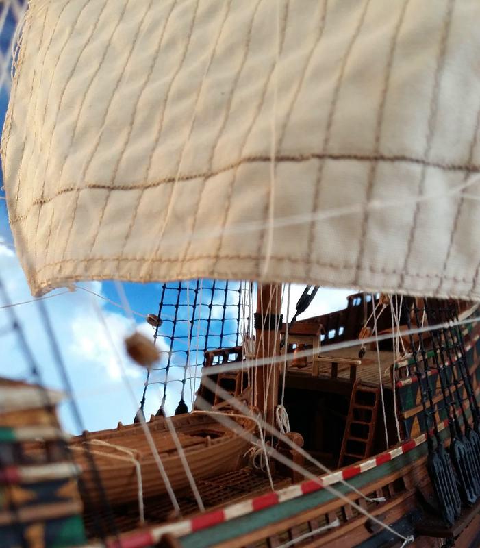 Mayflower Pilgrim-Ship, Revell 1/83 Comp_226