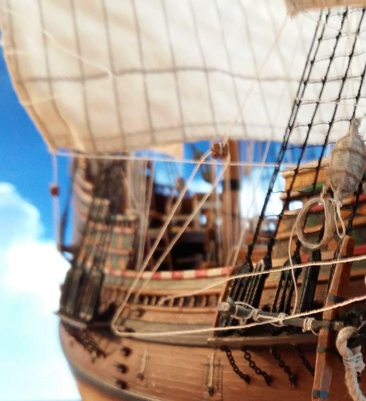 Mayflower Pilgrim-Ship, Revell 1/83 Comp_227