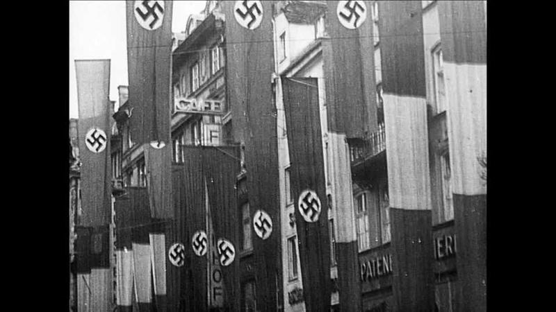"""Info """"drapeau"""" allemand des façades de bâtiment ww2 37034710"""