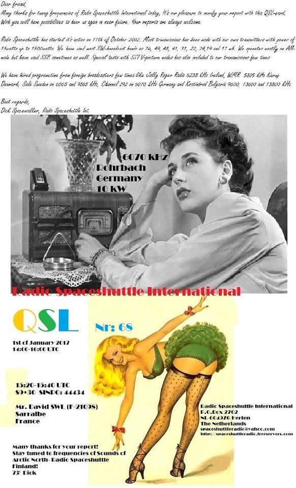 eQSL de Radio SpaceShuttle Inter. 01-01-10