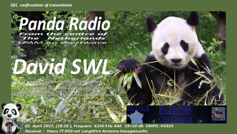 eQSL de PANDA radio 02-04-10