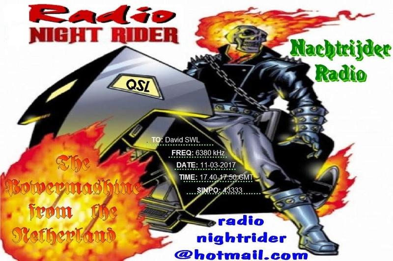 eQSL de Radio Night Rider Eqsl10