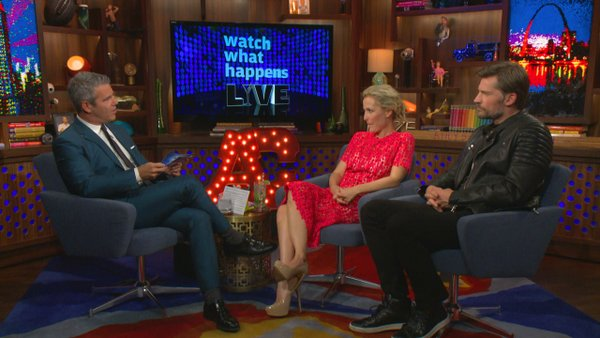 The X-files Bravo WWHL 6-ging24