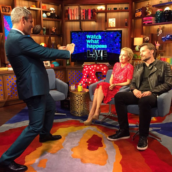 The X-files Bravo WWHL 7-ging20