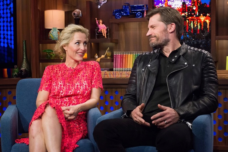 The X-files Bravo WWHL 8-ging19