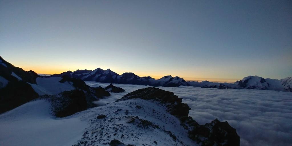 14 au 16 Août : Obergabelhorn 4063 m  Zinalrothorn 4221 m Cr311