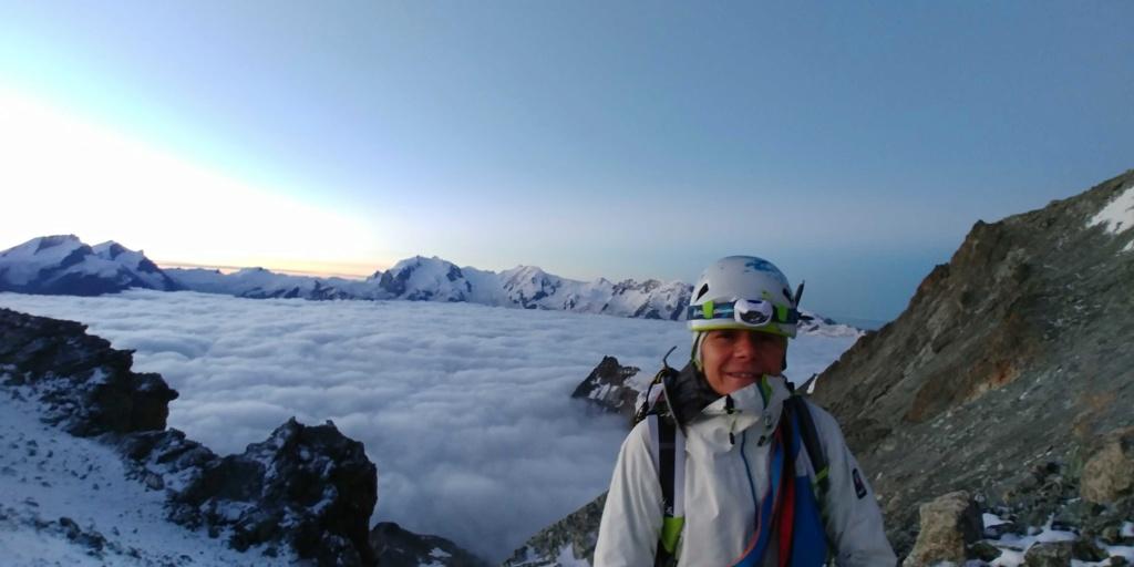 14 au 16 Août : Obergabelhorn 4063 m  Zinalrothorn 4221 m Cr411