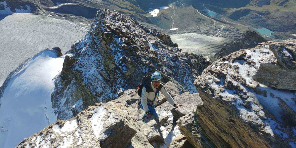 14 au 16 Août : Obergabelhorn 4063 m  Zinalrothorn 4221 m Cr511