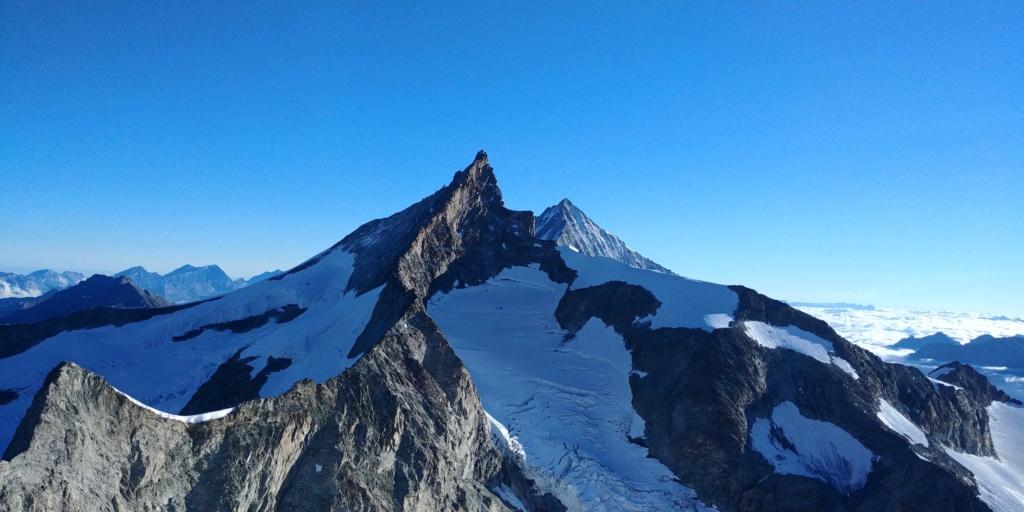 14 au 16 Août : Obergabelhorn 4063 m  Zinalrothorn 4221 m Cr711