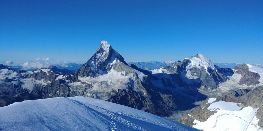14 au 16 Août : Obergabelhorn 4063 m  Zinalrothorn 4221 m Cr811