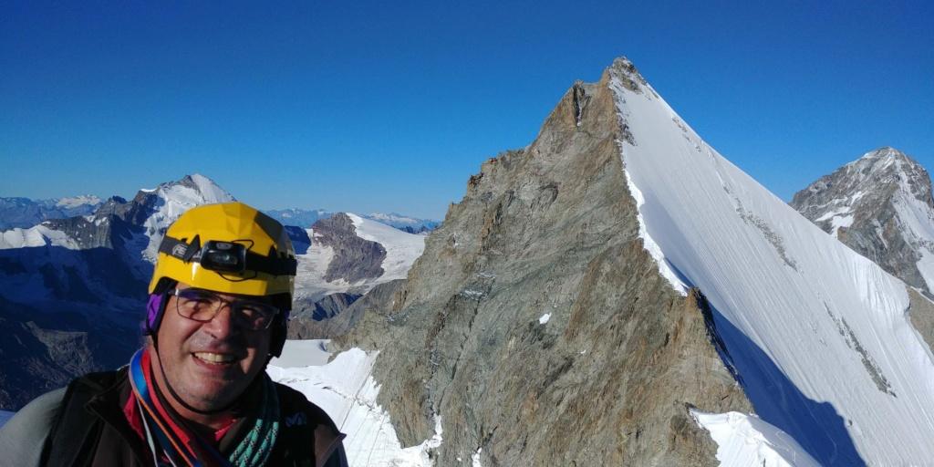 14 au 16 Août : Obergabelhorn 4063 m  Zinalrothorn 4221 m Cr911