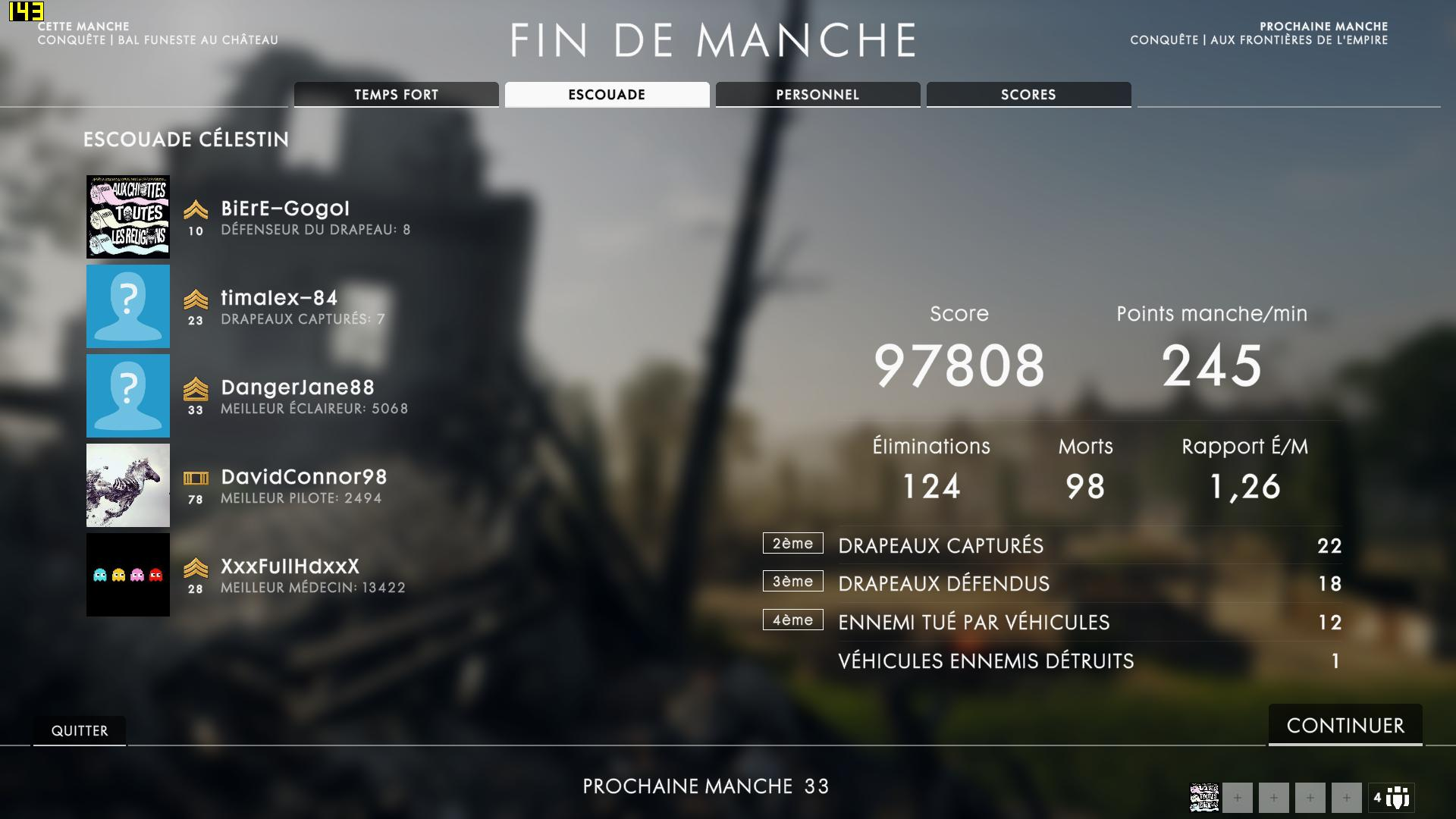 BF1 : Captures  Bf1_2013