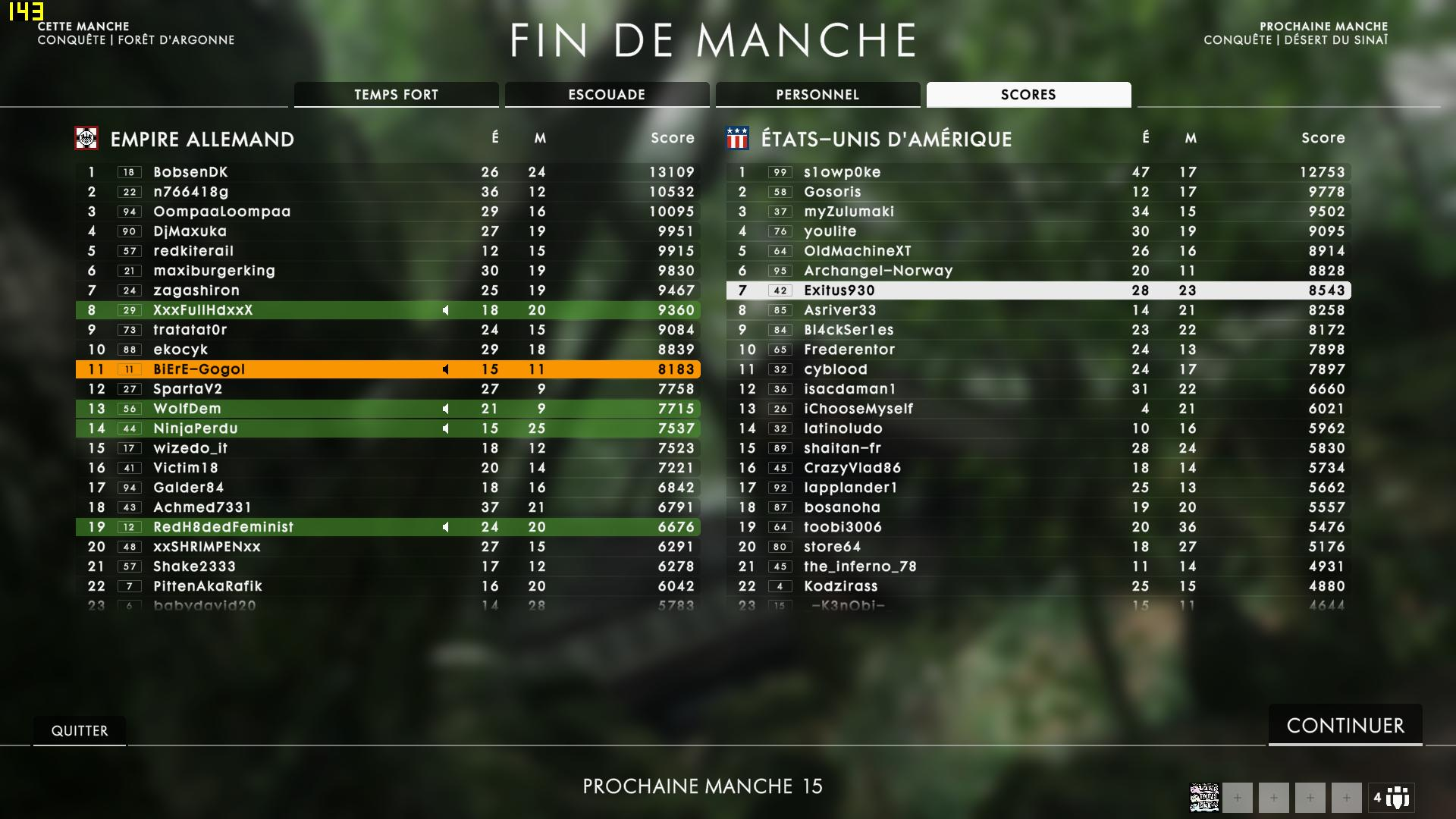 BF1 : Captures  Bf1_2019