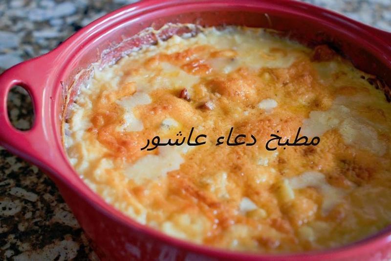طاجن بطاطس باللحمة والجبنة 11111260