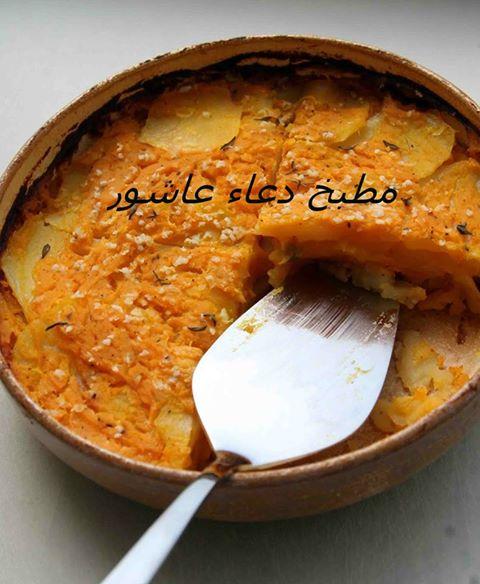 طاجن بطاطس بالطماطم 11111267