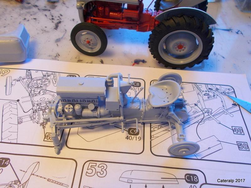 """Ferguson FF-30 mon petit gris """"rouge """" et TE-20 mon petit gris """"gris""""  Fergus12"""