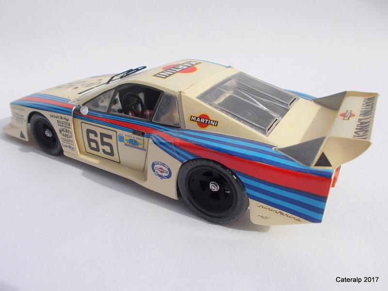 Lancia Beta Monte Carlo 8 ème Le Mans 1981  Lancia12