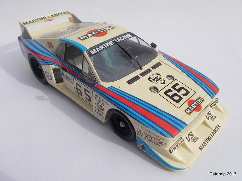 Lancia Beta Monte Carlo 8 ème Le Mans 1981  Lancia13
