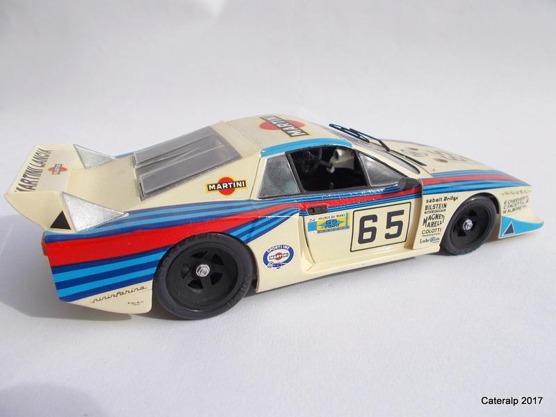 Lancia Beta Monte Carlo 8 ème Le Mans 1981  Lancia14