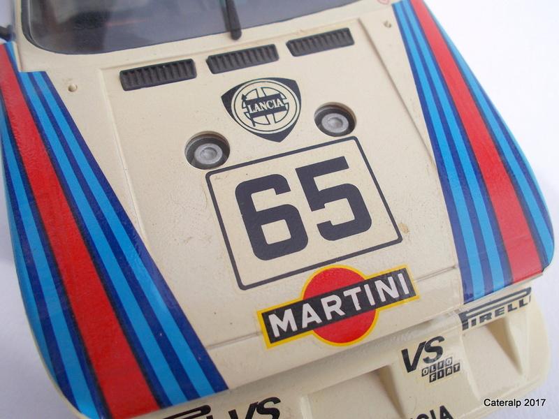 Lancia Beta Monte Carlo 8 ème Le Mans 1981  Lancia22