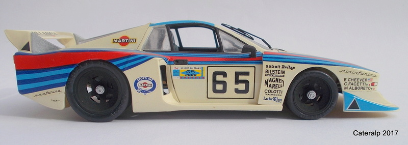 Lancia Beta Monte Carlo 8 ème Le Mans 1981  Lancia23