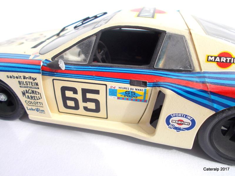Lancia Beta Monte Carlo 8 ème Le Mans 1981  Lancia24