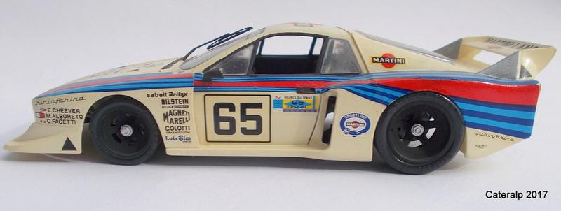 Lancia Beta Monte Carlo 8 ème Le Mans 1981  Lancia26
