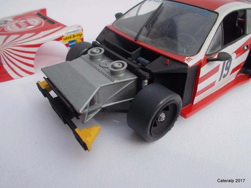 Lancia Beta Monte Carlo 8 ème Le Mans 1981  Lancia29