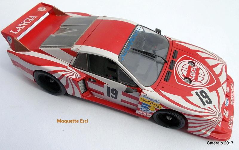 Lancia Beta Monte Carlo 8 ème Le Mans 1981  Lancia31