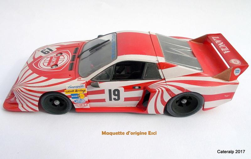 Lancia Beta Monte Carlo 8 ème Le Mans 1981  Lancia32