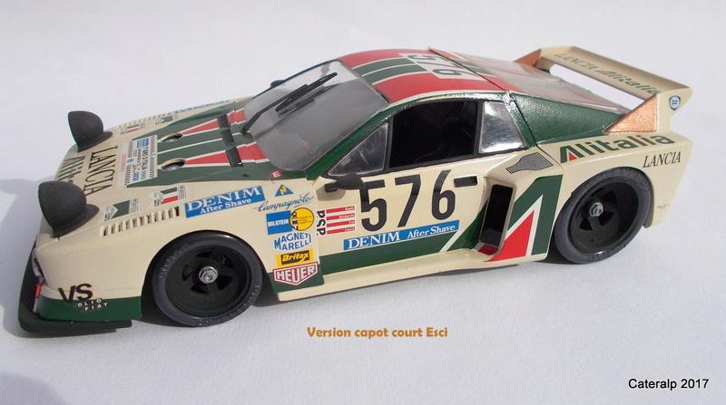 Lancia Beta Monte Carlo 8 ème Le Mans 1981  Lancia34