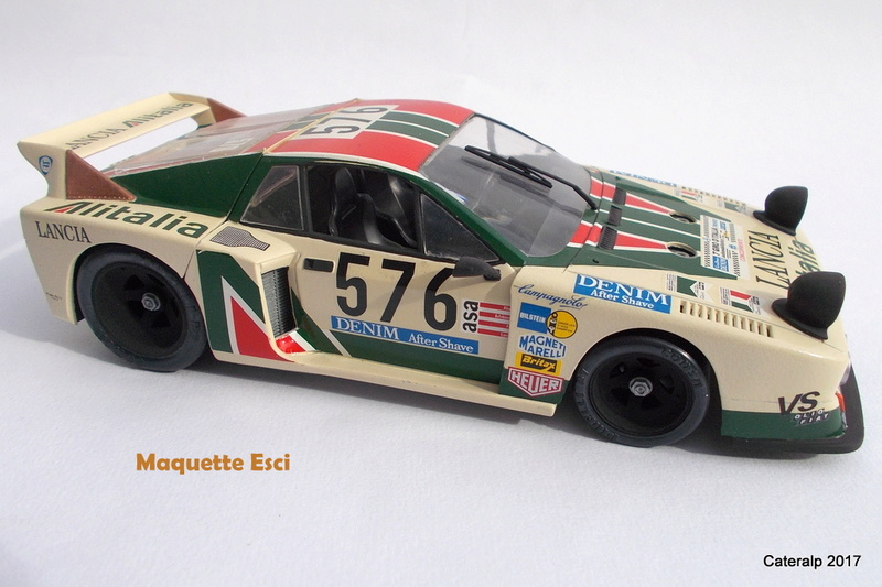 Lancia Beta Monte Carlo 8 ème Le Mans 1981  Lancia35