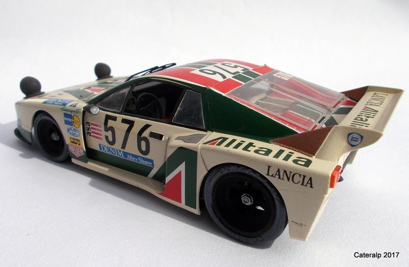 Lancia Beta Monte Carlo 8 ème Le Mans 1981  Lancia36