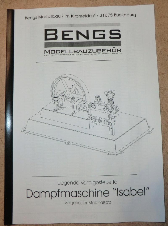"""Liegende Ventilgesteuerte Dampfmaschine """"Isabel"""" 00111"""