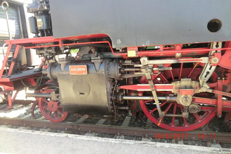 Dampflok 64 419 beim Bahnhofsfest Cimg1717