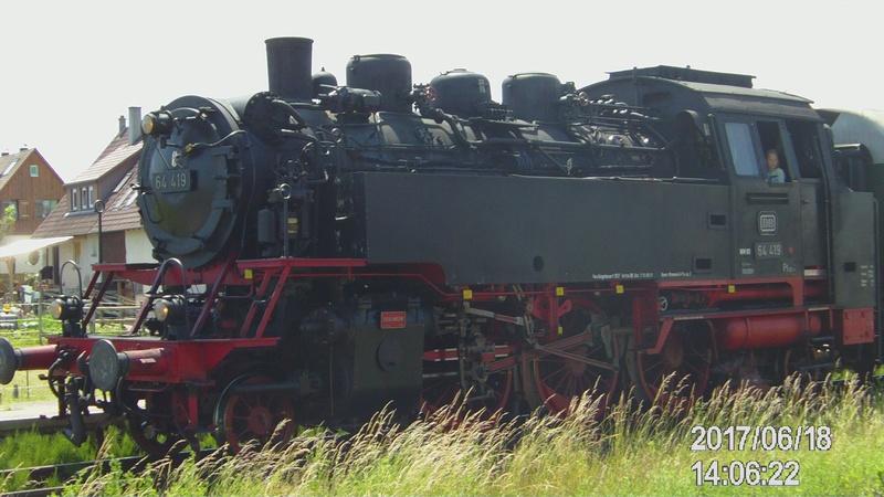Dampflok 64 419 beim Bahnhofsfest File1910