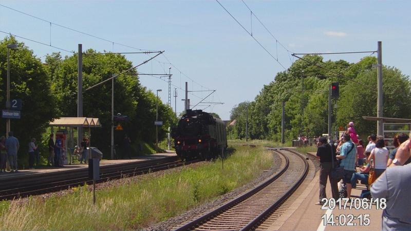 Dampflok 64 419 beim Bahnhofsfest File1911