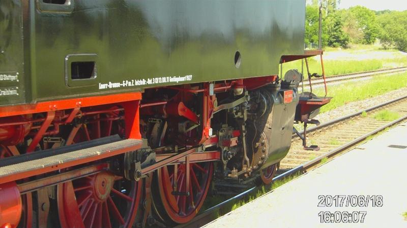 Dampflok 64 419 beim Bahnhofsfest File1912