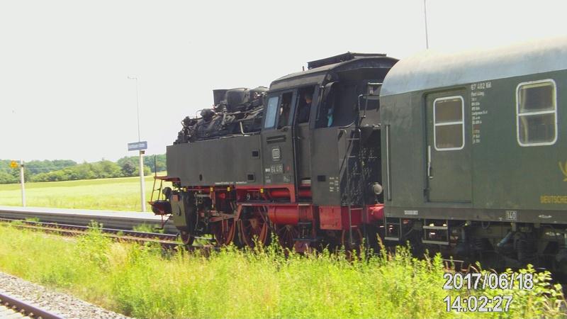 Dampflok 64 419 beim Bahnhofsfest File1913