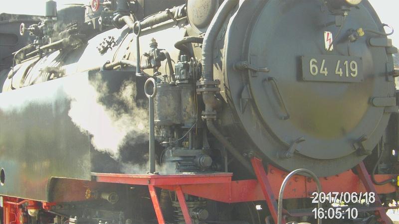 Dampflok 64 419 beim Bahnhofsfest File1914