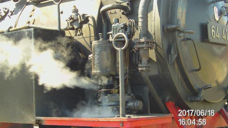 Dampflok 64 419 beim Bahnhofsfest File1915