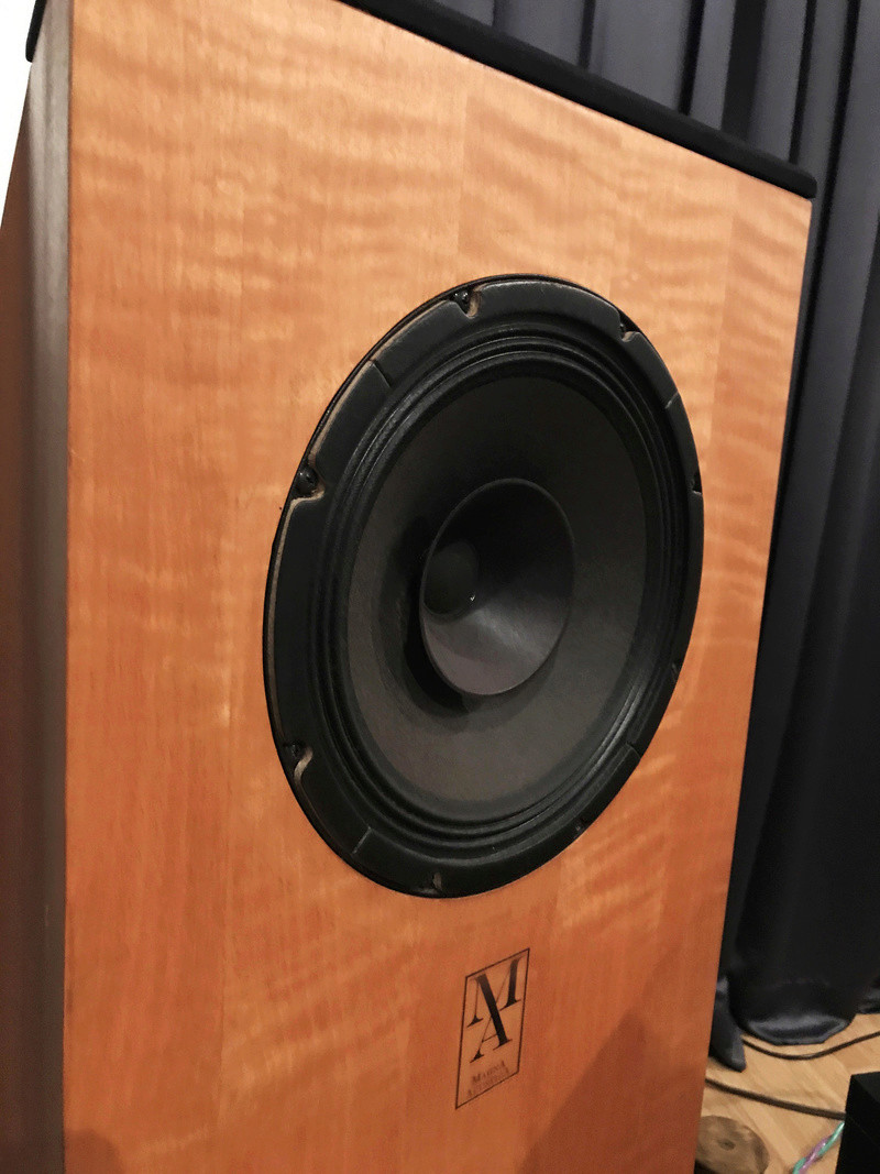 Magna Acustica Full Range Floorstanding Speakers Sold