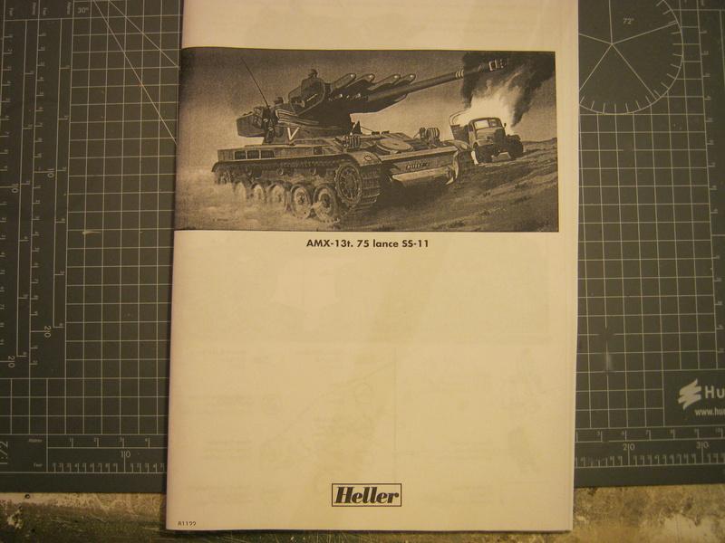 AMX 13 SS 11 1/35ème Réf 81122 Notice Img_4523