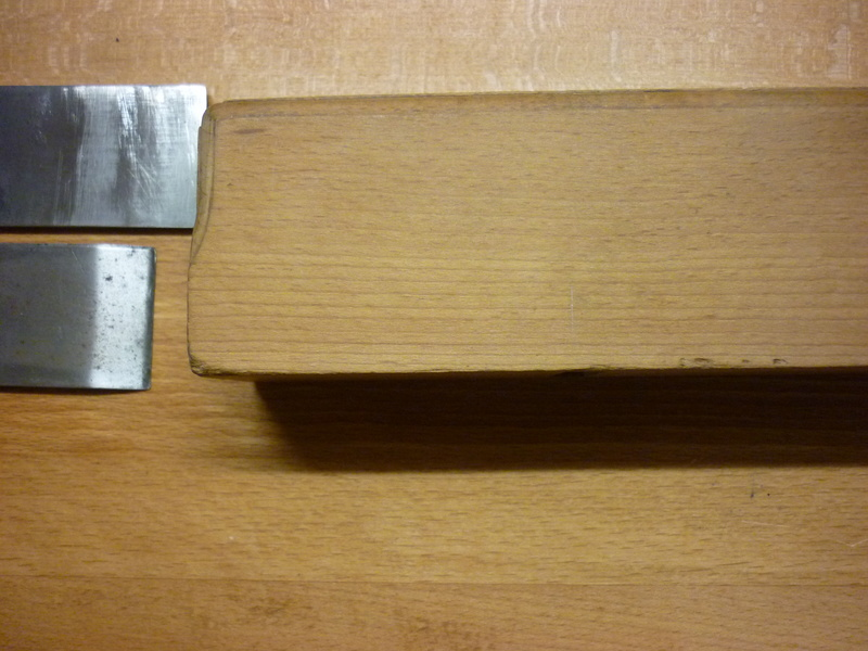 Restauration de rabots en bois. P1070611