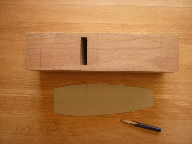 Restauration de rabots en bois. P1070619
