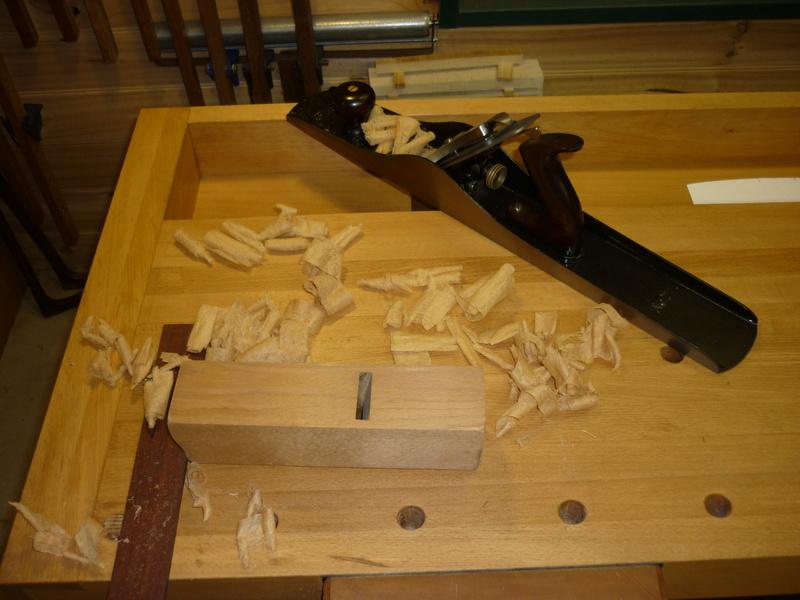 Restauration de rabots en bois. P1070623
